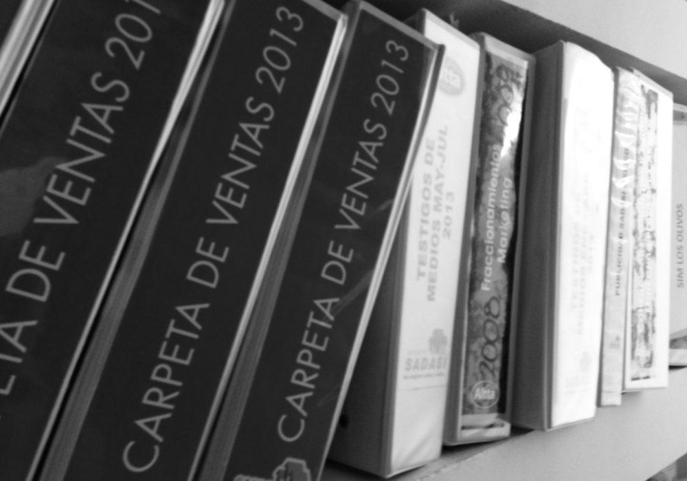 Archivos y bitácoras.