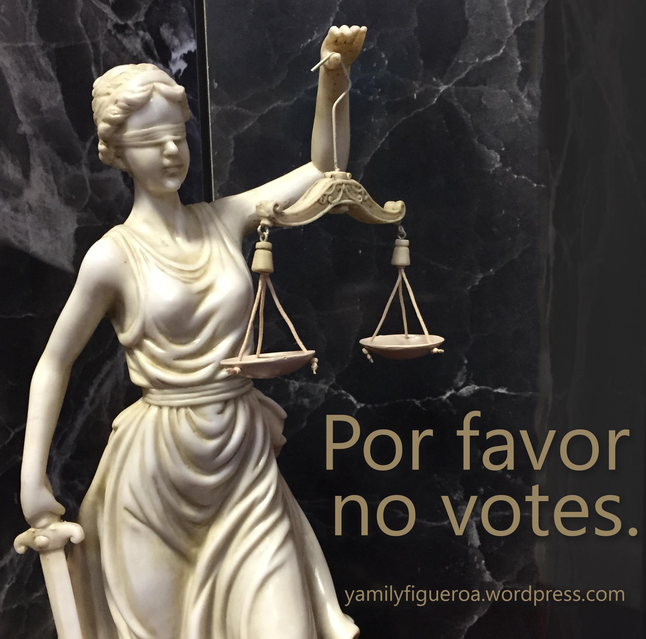 Por favor no votes