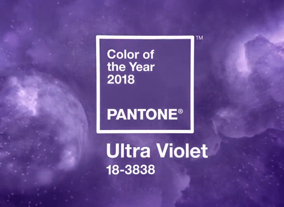 PANTONE 18-3838 Ultra Violet Color del año 2018